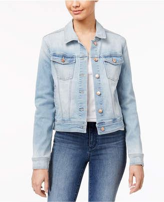 Celebrity Pink Juniors' Classic Denim Jacket $49 thestylecure.com