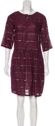 Ace&Jig Metallic Button-Up Dress w/ Tags