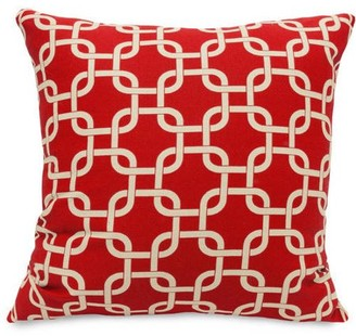 """Majestic Home Goods Links Extra Large Decorative Pillow, 24"""" x 24"""""""