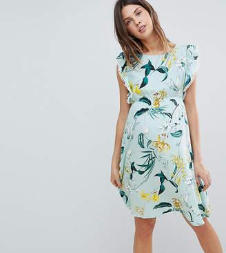 Mama Licious Mama.Licious Mamalicious Floral Print Shift Dress