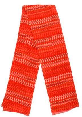 Thakoon Silk-Blend Tie-Dye Scarf