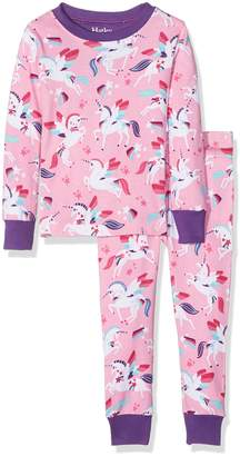 Hatley Little Girls Organic Cotton Long Sleeve Printed Pajama Sets