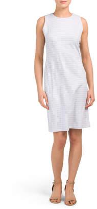 Printed Sophia Sheath Dress