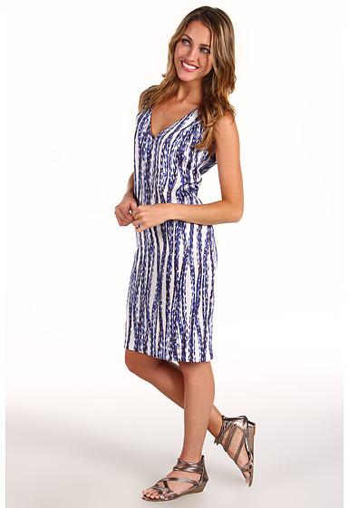 Anne Klein Streamers Print Shift Dress