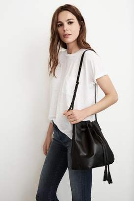 Velvet by Graham & Spencer VICTORY LEATHER BUCKET BAG