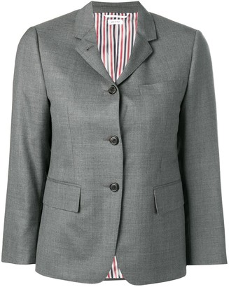 Thom Browne Classic S/C W/ Narrow Shoulder In Super 120's Twill