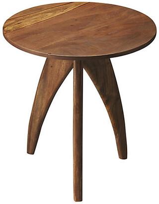 One Kings Lane Brooke Mid-Century Side Table - Wood
