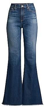 AG Jeans Women's Iva High-Rise Denim Bell Bottoms