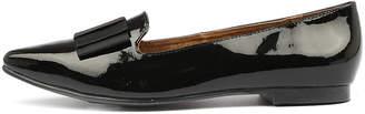 Walnut Melbourne Blair patent bow Black Shoes Womens Shoes Casual Flat Shoes