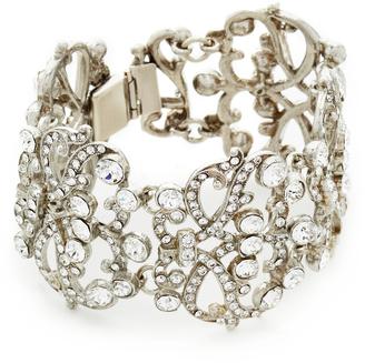 Ben-Amun Lace Station Wide Bracelet $440 thestylecure.com