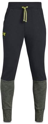 Under Armour Boys' Tapered Double-Knit Fleece Pants - Big Kid