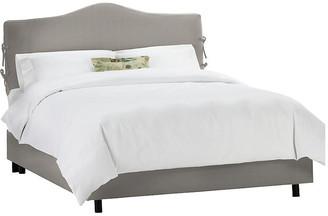 One Kings Lane Eloise Slipcover Bed - Gray