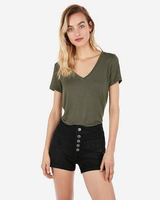 Express One Eleven V-Neck Easy Tee