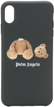 Palm Angels iPhone X logo print case