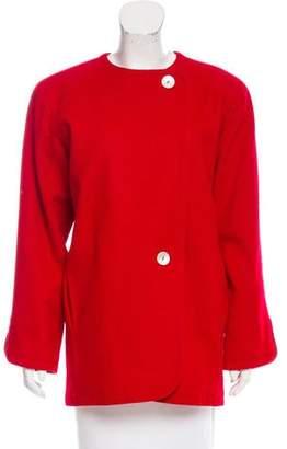 Saint Laurent Structured Short Coat