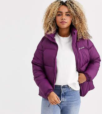 Columbia Puffect jacket in purple