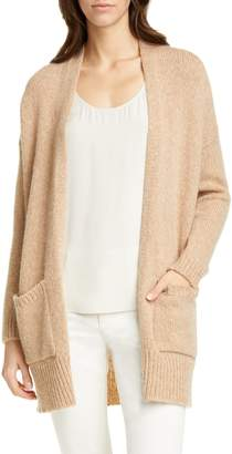 Eileen Fisher Shawl Collar Wool & Mohair Blend Long Cardigan