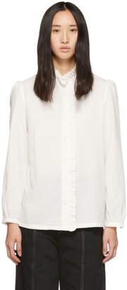 A.P.C. White Dunst Shirt