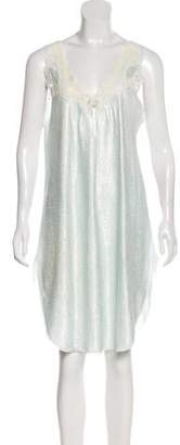 Christian Dior Lace-Trimmed Nightgown