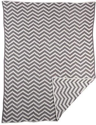 Living Textiles THE Chevron Blanket