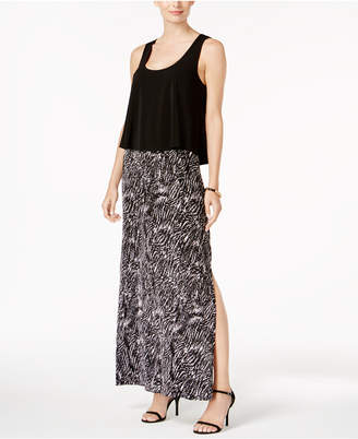 Connected Popover Racerback Maxi Dress $79 thestylecure.com