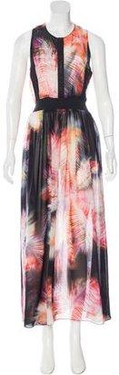Sandro Printed Maxi Dress $95 thestylecure.com