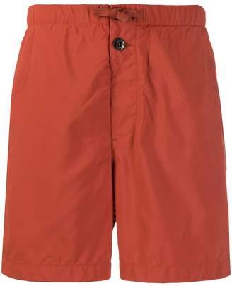 Stone Island half stripe swim shorts