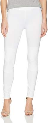 Hue Women's Lace Knee Cotton Leggings