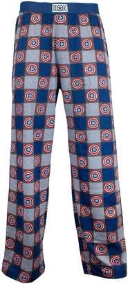 Marvel Avengers Mens Captain America Lounge Pants