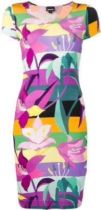 Just Cavalli floral print T-shirt dress