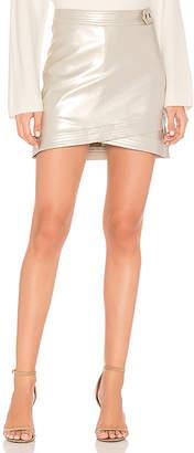 Line & Dot Dempster Mini Skirt