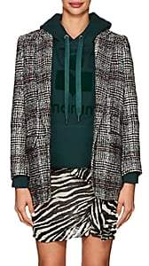 Etoile Isabel Marant Women's Ice Checked Tweed Blazer - Black