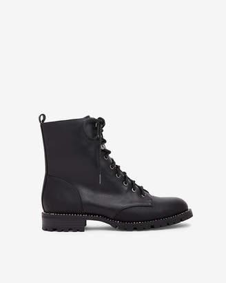 Express Rhinestone Lug Boots