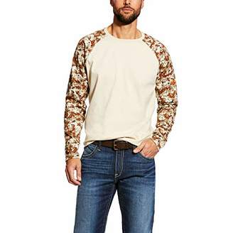 Ariat Men's Big and Tall Flame Resistant Baseball Tee