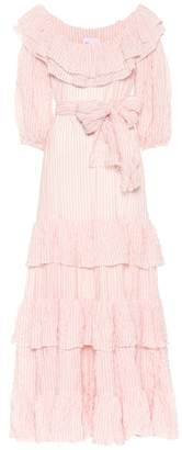 Lisa Marie Fernandez Eugenie striped cotton dress