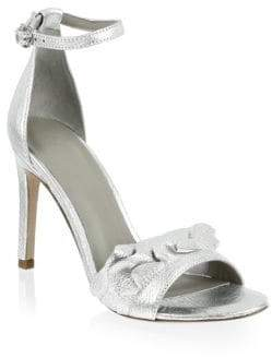Joie Abigail Metallic Leather Sandals