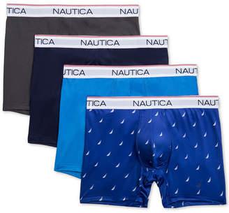 Nautica Men 4-Pk. Performance Boxer Briefs