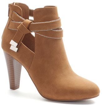 Jennifer Lopez Women's Exposed Ankle Boots $89.99 thestylecure.com
