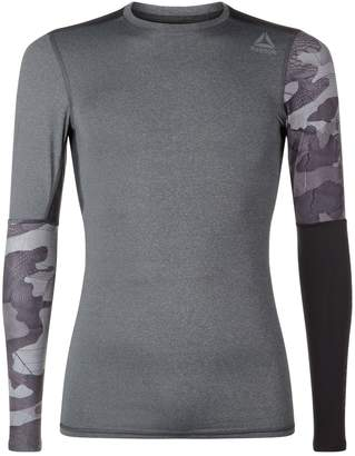 Reebok Graphic Compression Long Sleeved T-Shirt