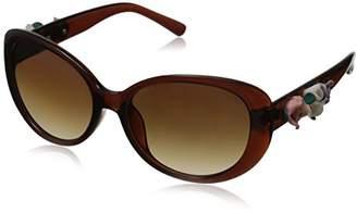 Betsey Johnson Women's Bridgette Cateye Sunglasses