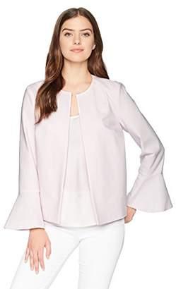 Chaus Women's Ruffle SLV Jacket