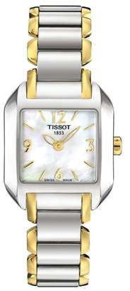 Tissot Women's T-Wave Two-Tone Bracelet Watch, 23mm
