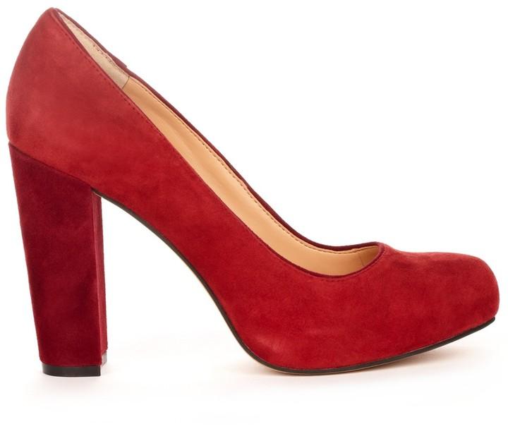 Sole Society Ava block heel pump