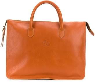 Il Bisonte large top handle tote bag