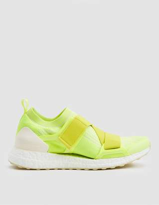 100% authentic c0328 544c0 adidas by Stella McCartney UltraBOOST X Double Strap in Solar Yellow