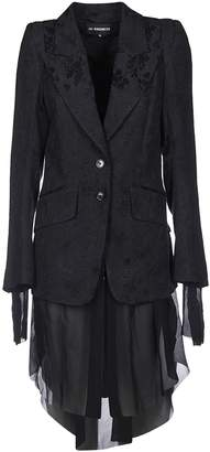 Ann Demeulemeester Single Breasted Coat