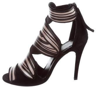 Pierre Hardy Bicolor Cage Sandals