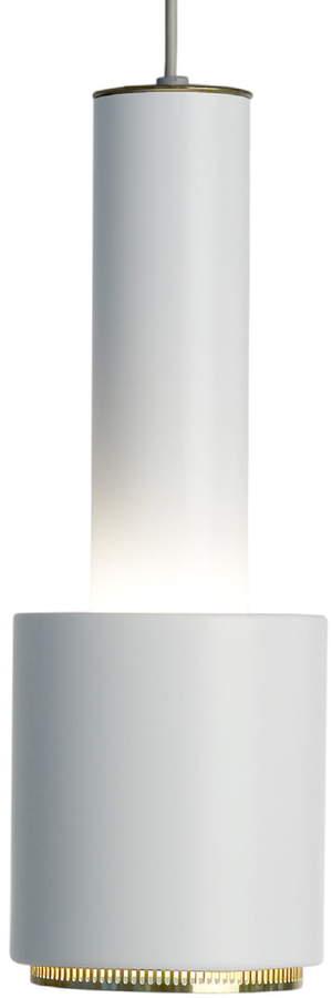 A 110 Handgranate Pendelleuchte, Weiß / Messing