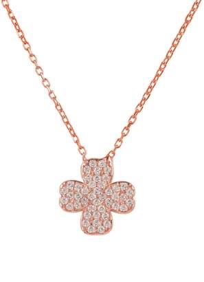 Rosegold Latelita London - Lucky Clover Necklace