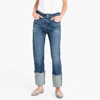 J.Crew Point Sur selvedge supercuff jeans in Torrey wash